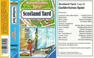 Scotland Yard 26-290001