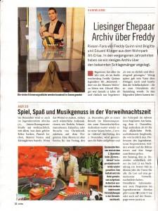 Unser Archiv in der Presse